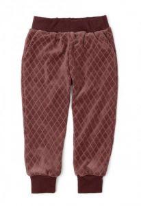 Вельветові штани з органічної бавовни для дівчинки, 11482