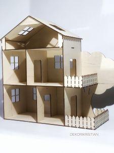 Дерев'яний ляльковий будиночок, DekoriKristian
