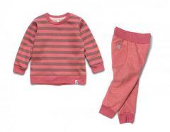 Трикотажний костюм-двійка з легким начосом для дівчинки, 11785