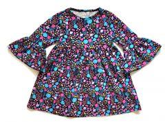 Трикотажне плаття для дівчинки, П-001