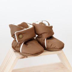 Пінетки-чобітки (коричневий) для малюка, 1069