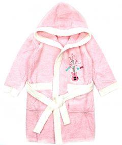 Махровый халат для девочки (розовый), 470 Ramel Kids