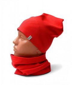 Трикотажний набір для дитини (шапочка і хомут), 11554