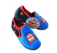 "Тапочки  для ребенка ""Super Wing"" голубые, Sun City HQ4703"