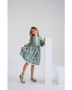Святкова котонова сукня від Decolad