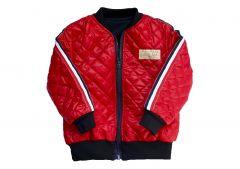 Стильна куртка-бомбер з трикотажною підкладкою, КО-1