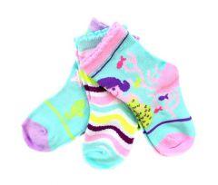 Набір шкарпеток для дівчинки (3 пари), YOclub SKC/3PAK/ABS