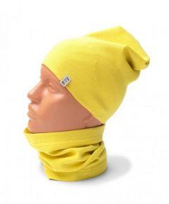 Трикотажний набір для дитини (шапочка і хомут), 11565