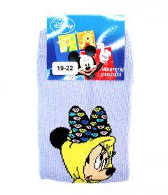 """Шкарпетки для дівчинки """"Мінні Маус"""" (бузкові), Disney"""