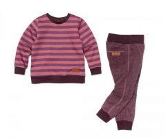 Теплий костюм-двійка з флісовою байкою для дитини, 11613