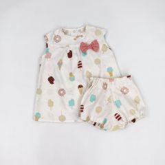 Плаття в комплекті з шортиками-блумерами (морозиво), Coolton