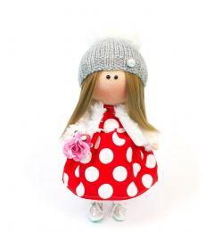 "Текстильна лялька ручної роботи ""Шарлотта"", ДекоЛад"