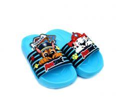 Гумові шльопанці ''Paw Patrol '' для хлопчика, блакитні, Paw 52 51 1339 3D