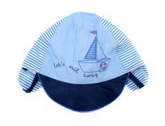 Кепка для хлопчика (темно-голуба), Yoclub CLU-092