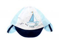 Кепка для хлопчика (голуба), Yoclub CLU-092