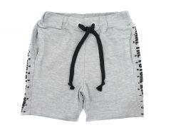 Трикотажні шорти для хлопчика (сірі), 7ЛК104