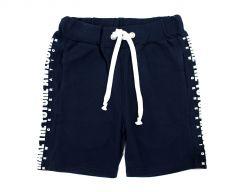 Трикотажні шорти для хлопчика (темно-сині), 7ЛК104