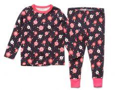 Трикотажна піжама для дівчинки, 10977-1