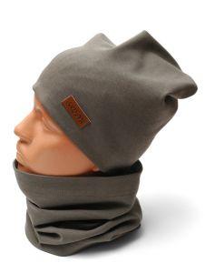 Трикотажний набір для дитини (шапочка і хомут), 11030