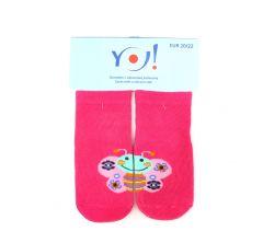 """Шкарпетки для дівчинки """"метелик"""",  YOclub  SK-10"""
