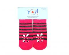 """Шкарпетки для дівчинки """"рожеві"""",  YOclub  SK-10"""