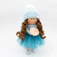 """Текстильна лялька ручної роботи """"Габріелла""""  ДекоЛад"""