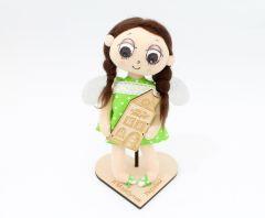 Текстильна лялька ручної роботи з Міста Добра https://misto-dobra.com.ua/
