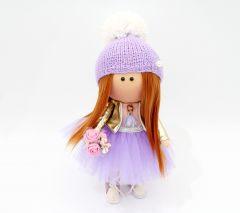 """Текстильна лялька ручної роботи """"Марлена""""  ДекоЛад"""