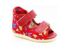 Ортопедичне профілактичне взуття, червоне 0123 Берегиня