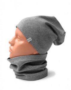 Трикотажний набір для дитини (шапочка і хомут), 11549