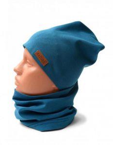 Трикотажний набір для дитини (шапочка і хомут), 11546