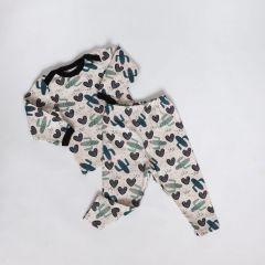 Трикотажна піжама для дівчинки (кактуси), Coolton