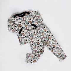 Трикотажна піжама для дитини (собачки), Coolton