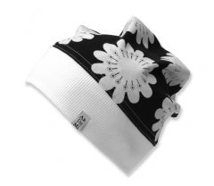 Трикотажна шапочка для дівчинки (з манжетом), 10727