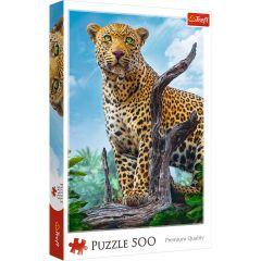 "Пазли ""Дикий леопард"", Trefl 37332"