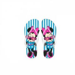 """В'єтнамки для дівчинки """"Minnie Mouse"""" DIS MF 52 51 8489 (сині)"""