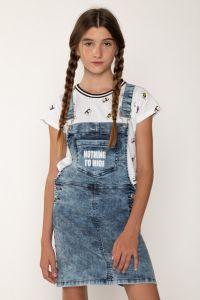 Джинсовий сарафан для дівчинки, Reporter 203-0223G-02-002-1