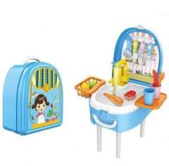 """Ігровий набір """"Мийка для овочів"""" у валізі, 678-308A"""