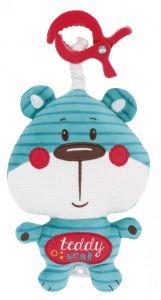 """Подвесная музыкальная  игрушка """"Мишка"""", Canpol babies 68/048_blu"""