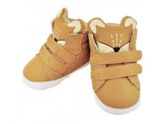 Пінетки-чобітки для дитини (коричневі) ОВ-123