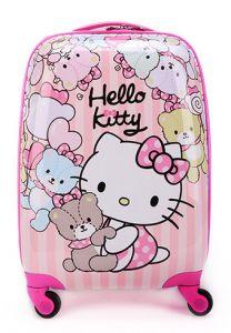 """Дитяча пластикова валіза """"Хелло Кітті та друзі"""", Hello Kitty"""