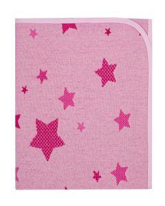 М'яке покривальце для малюка (рожеве), Duetbaby 682