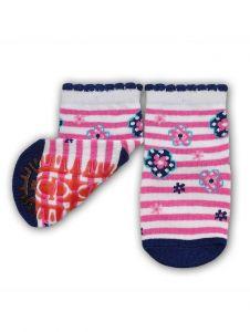 """Шкарпетки для дівчинки рожеві """" квітка"""", YOclub  SK-10"""