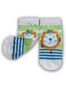 "Шкарпетки для хлопчика ""лев"",  YOclub  SK-10"