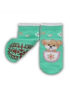 Шкарпетки для дівчинки салатові  YOclub  SK-10