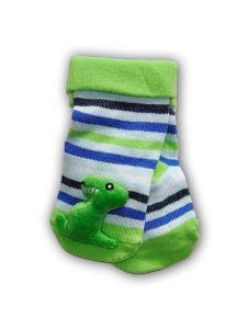 """Шкарпетки з 3D нашивкою """"Динозавр"""", YOclub SKC-TOYS"""