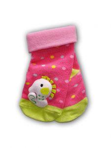 Шкарпетки з 3D нашивкою в горошок, YOclub SKC-TOYS
