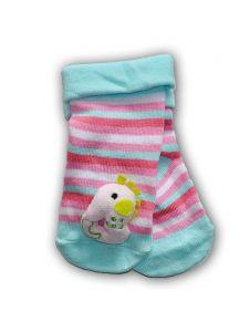 """Шкарпетки з 3D нашивкою в смужку """"Морський кінь """", YOclub SKC-TOYS"""