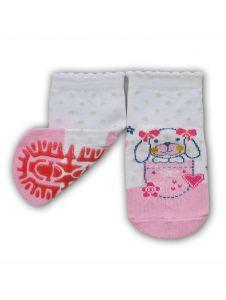 Шкарпетки для дівчинки рожеві  YOclub  SK-10
