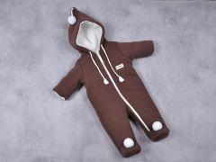 """Теплий комбінезон для дитини """"Гномик"""" (коричневий), 12200"""